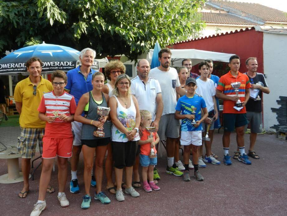 Avec 280 participants, le traditionnel tournoi d'été du TC Saint-Charles a tenu toutes ses promesses.