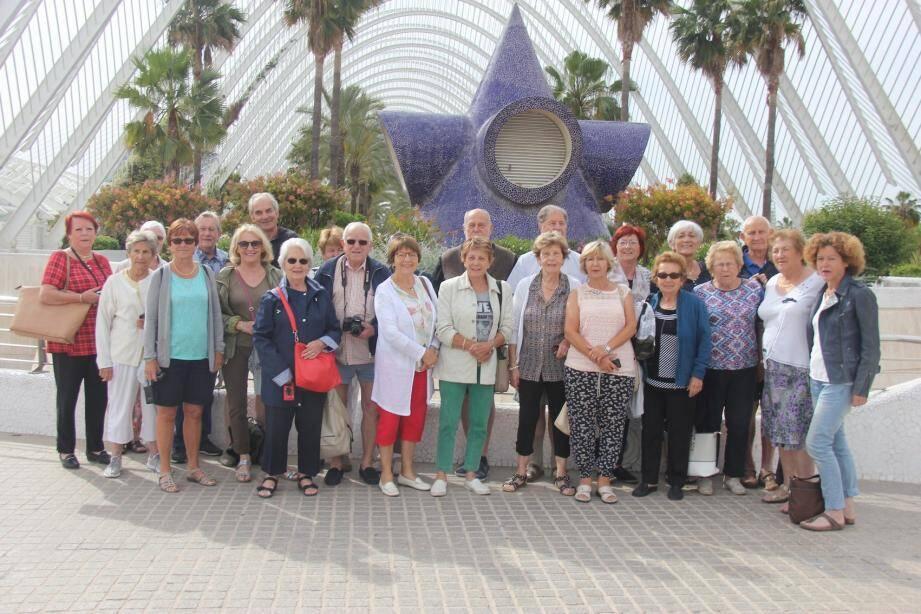 En compagnie d'Arbugios les seniors de la commune effectuent de très beaux voyages.