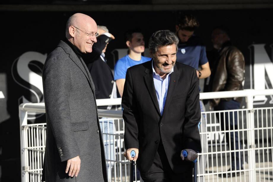 Bernard Laporte avec Mohed Altrad : une relation qui interroge...