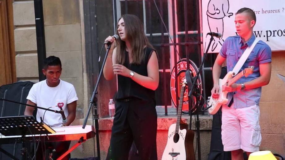 Un tremplin pour les jeunes musiciens.