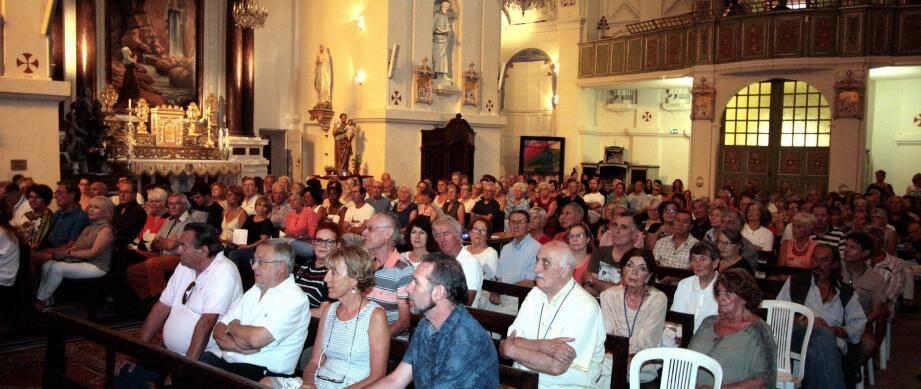 Le nombreux public atteste de la qualité de la programmation et des artistes invités d'un festival devenu une référence de la musique baroque. Un duo d'exception : Lina Uinskyte au violon et Marco Ruggeri à l'orgue Grinda.(Photos J.-P. B.