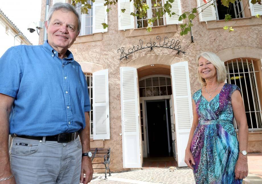 Jean-Paul Ollivier et sa première adjointe, Nicole Lotito : un tandem qui fonctionne.