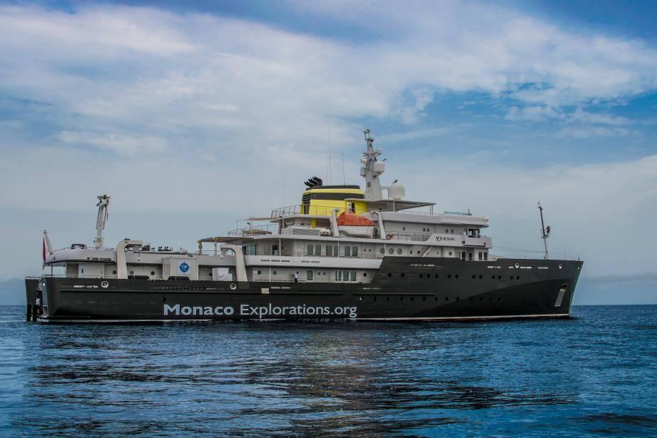 Le Yersin passera tout le mois de septembre dans les eaux de Madère et de Cabo Verde.