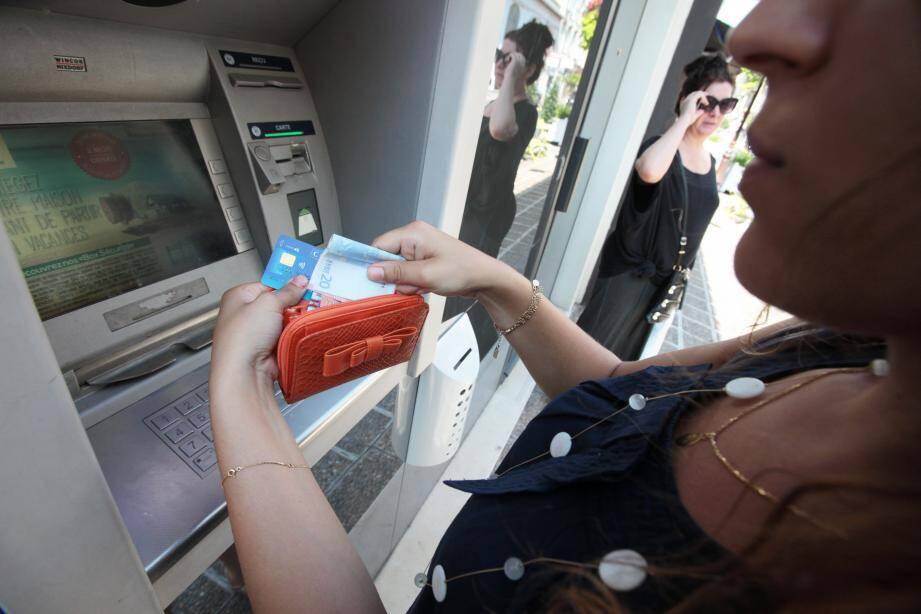 Image d'illustration d'un distributeur de billets.