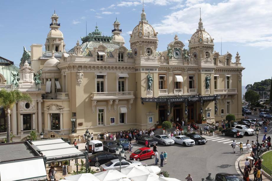 Vue générale sur le casino de Monte-Carlo