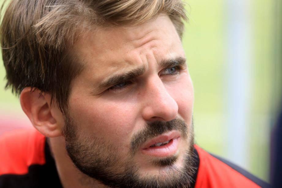 Hugo Bonneval, arrière au RC Toulon.