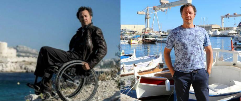 """Issu du monde ouvrier, le comédien Bruno Debrandt a été très touché par la tragédie des chantiers navals, l'histoire des """"105"""". Et aujourd'hui, par les jeunes qui y reviennent travailler mais pas dans les mêmes métiers."""