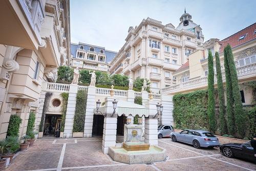 L'hôtel Métropole à Monaco