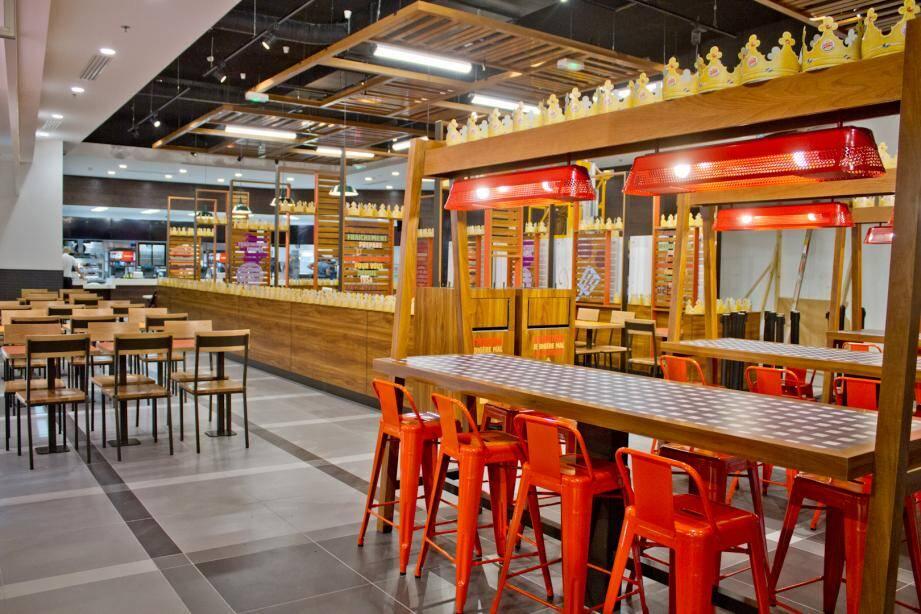 La décoration intérieure du futur restaurant BK doit être dans l'esprit de celui-ci, établi à Paris.