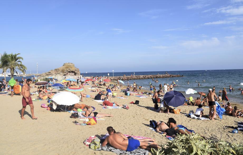 La plage de la Raguette.