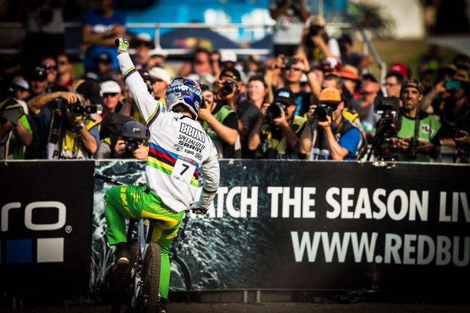 En 2016, Loïc Bruni a remporté sa première coupe du monde sur la piste de Cairns. Et si cette année, il y décrochait un deuxième titre mondial après celui de 2015?