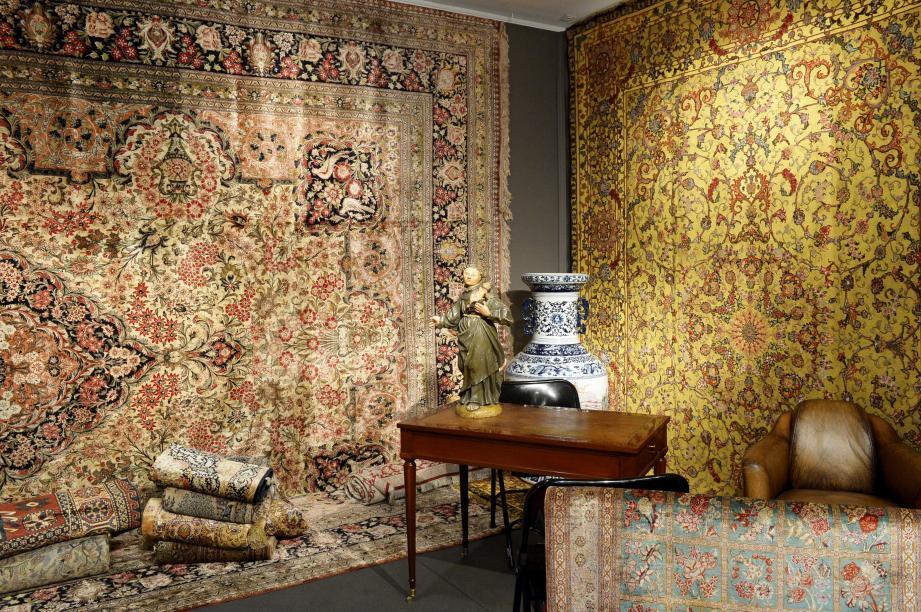 Les tapisseries iraniennes