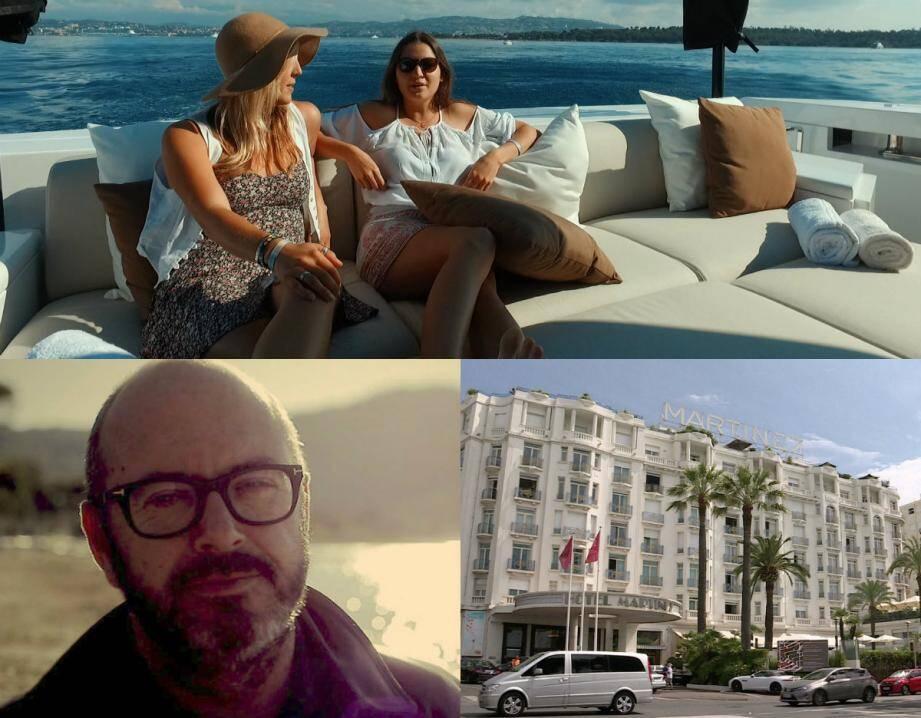 Frédéric Lafont (ci-dessus, à gauche) nous parle de l'épisode de Zone Interdite qui s'intéresse à Cannes.