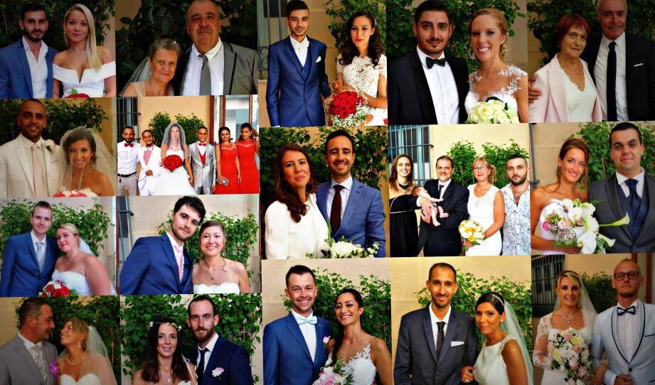 Dix-sept mariés se sont unis à Nice