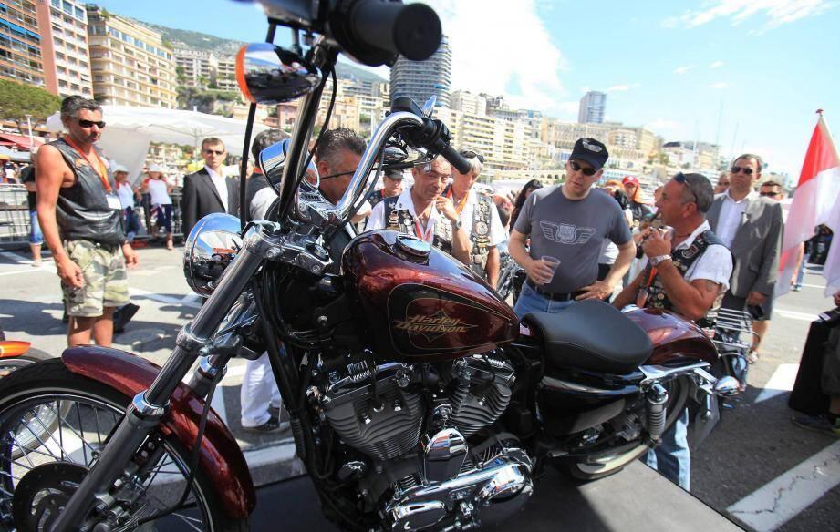 «Ici, nous ne sommes pas sectaires sur les Harley. Tout le monde est le bienvenu»