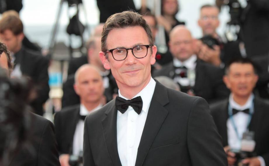 Le réalisateur Michel Hazanavicius au Festival de Cannes