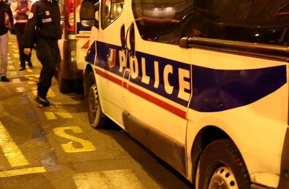 Illustration de la police.