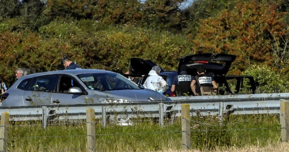 Le principal suspect, Hamou B., a été arrêté sur l'A16.