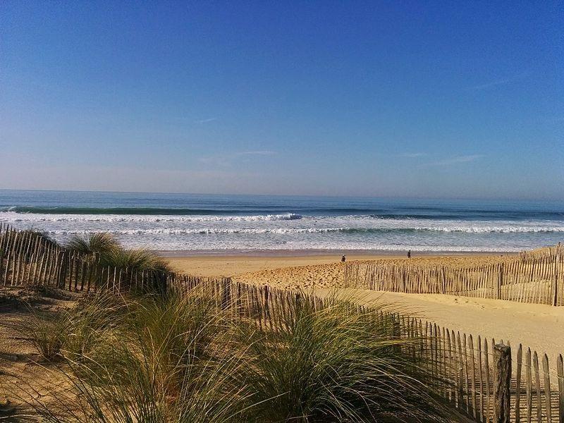 La plage des Estagnots à Seignosse (image d'illustration).