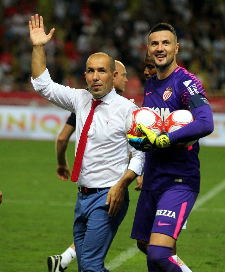 Subasic affronte ce soir la Turquie avec la sélection croate. Il devrait retourner à Monaco dès mercredi.