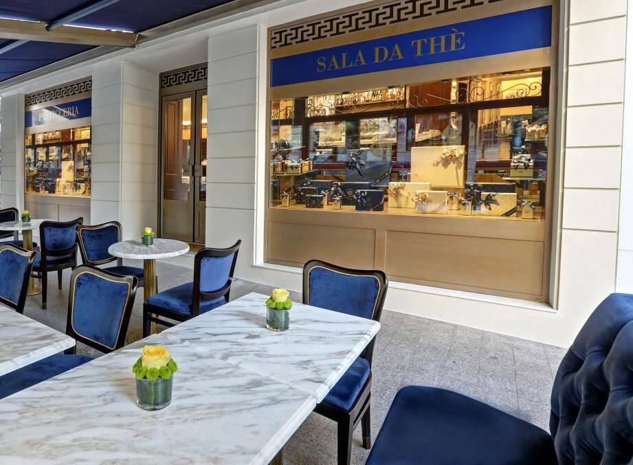 La pâtisserie Cova vient d'ouvrir ses portes sur le boulevard des Moulins.(DR)