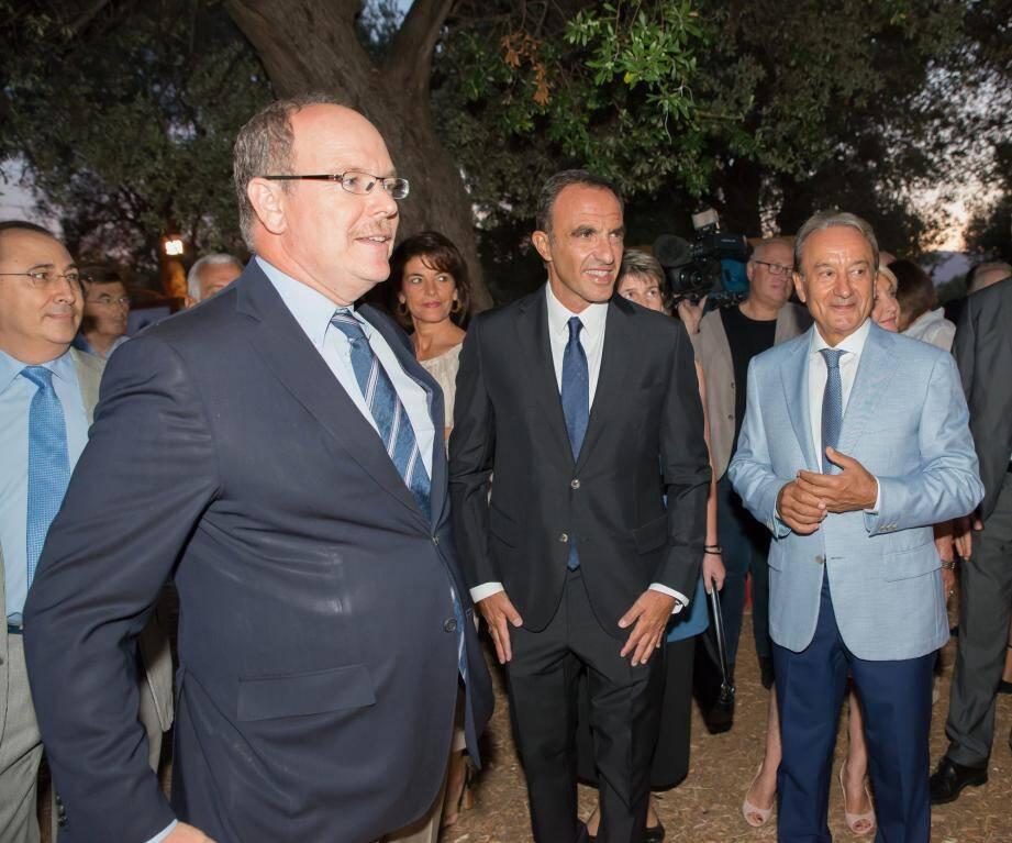 Inauguration lundi soir à Roquebrune-Cap-Martin.