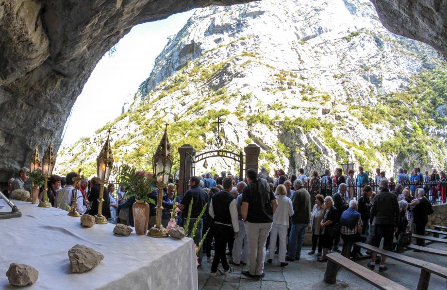 Le pèlerinage de Notre-Dame de la clue fête ce week-end ses 130 ans.