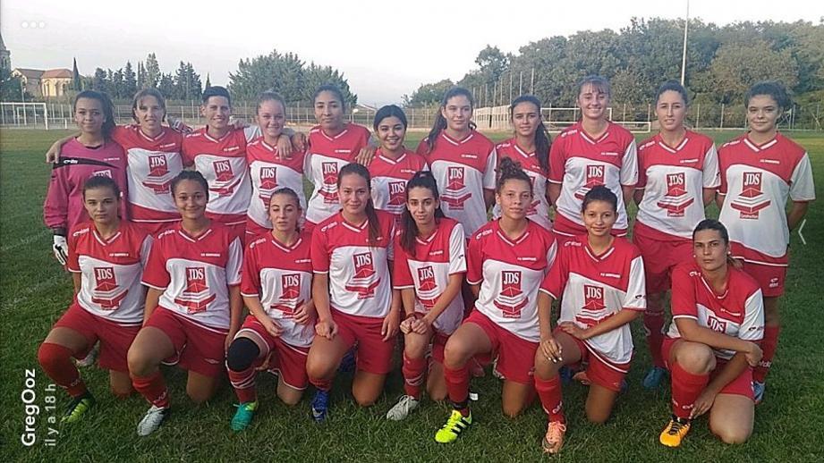 Les filles du FCG reprennent leur préparation pour la saison.