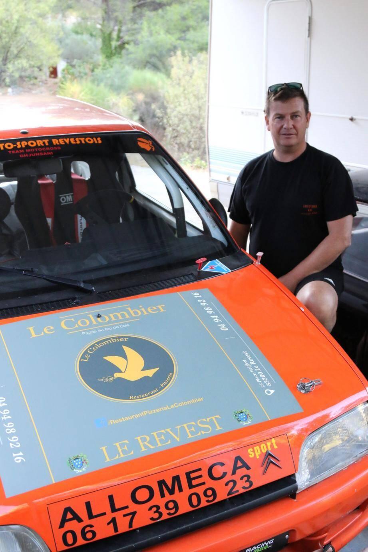 Bien connu sous le nom de « L'homme de fer », le ferronnier revestois Jérôme Santini portera haut les couleurs de la commune, lors de la finale automobile de la coupe de France de la montagne.