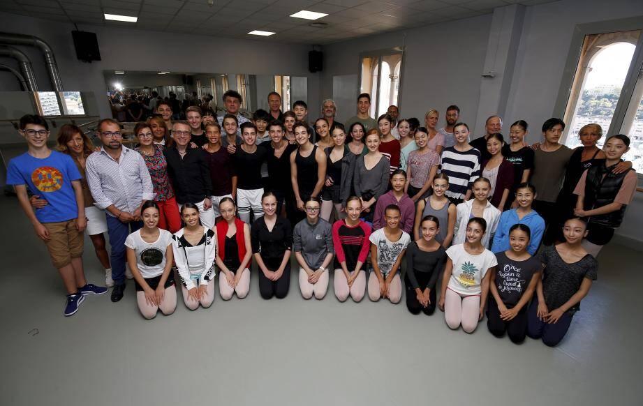 Une nouvelle année démarre, à l'Académie de danse Princesse-Grace, pour les élèves et professeurs.
