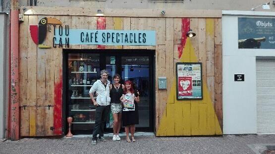 Cyril et Mélodie (à gauche) sont à la tête du Toucan depuis 2 ans. Julie (à droite) propose, cette année, des cours de théâtre aux 6-14 ans.(DR)