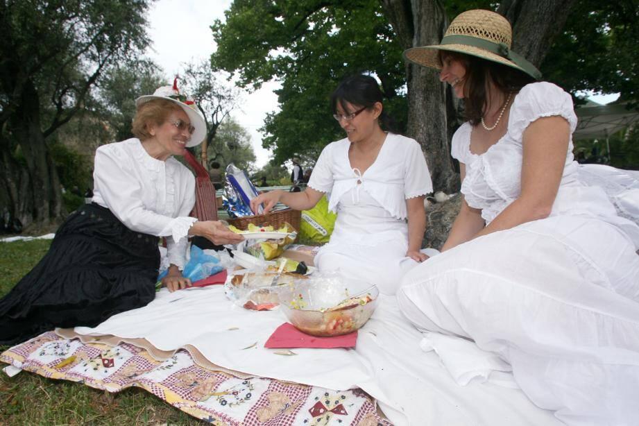 L'invitation pour le «Déjeuner sur l'herbe» est lancée.(Archives J.B.)