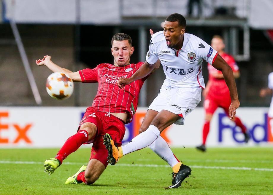 Plea a fait les bons choix hier soir. L'ancien Lyonnais a déjà inscrit cinq buts cette saison.