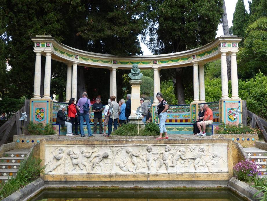 Un Festival du livre d'occasion, des visites du jardin et un concert de musiques ibériques à Fontana Rosa.. (Archive photo N.-M.)