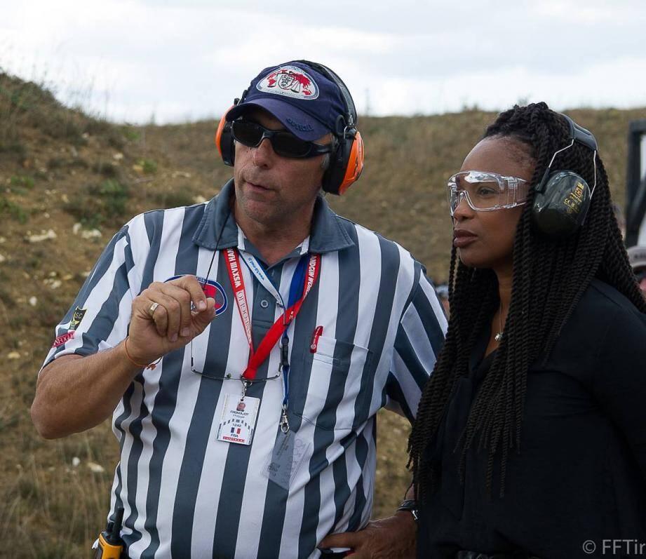 P. Fromajot a expliqué le tir sportif de vitesse pendant plus de vingt minutes.