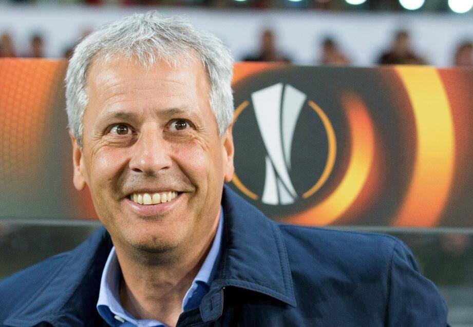 Lucien Favre,  coach heureux