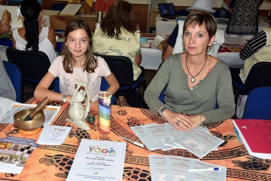 Pour répondre à la demande Carole (à droite) sera présente cinq jours par semaine à l'ancienne école de musique.
