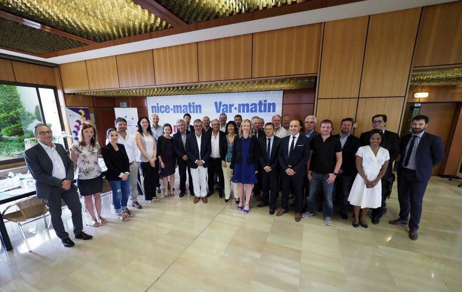 Ces entrepreneurs cherchent à générer plus de dynamique dans leur structure et sur leur territoire. Ils ont participé aux fondations du Hub business Nice-Matin en juin dernier.