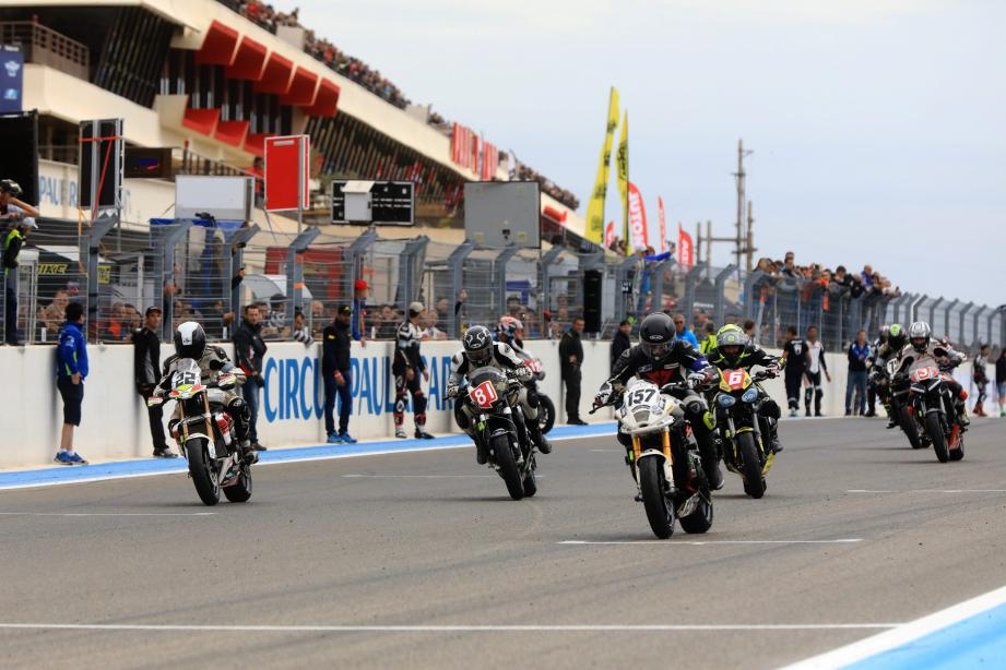 Julien Vezzuti (ici au guidon de la moto 81) et Christian Dupuy ont effacé leur déception de l'an dernier.