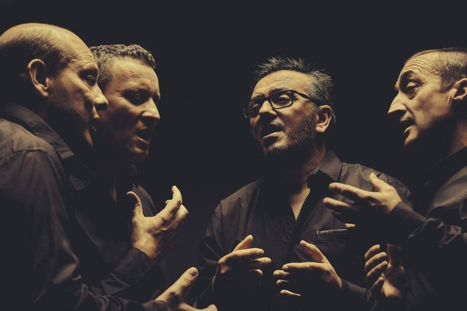 En refusant de se laisser enfermer dans les répertoires stéréotypés et la facilité, les quatre hommes du groupe Barbara Furtuna ont ouvert une voie artistique quasiment unique.(DR)