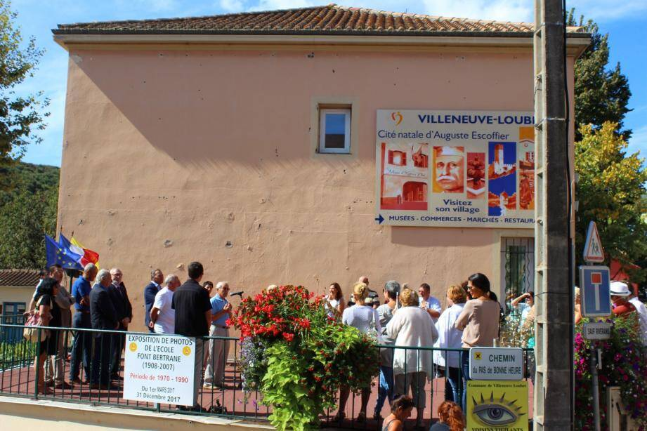 Lionnel Luca, maire de la ville, a présenté le projet.  (JMP)