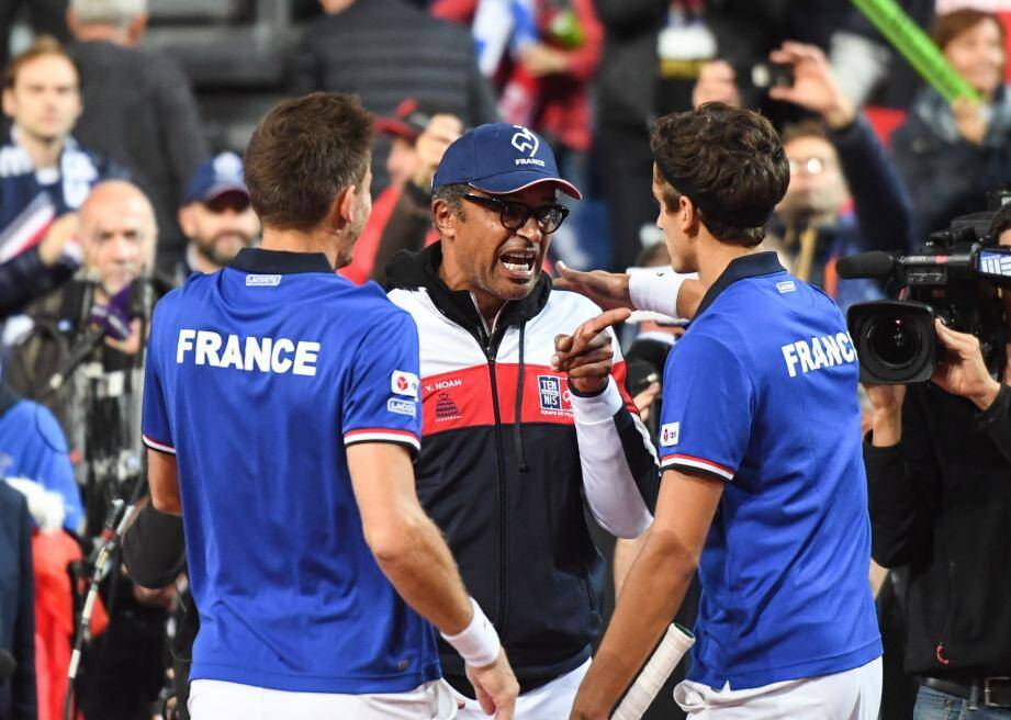 Mahut et Herbert ont apporté le deuxième point à leur capitaine.