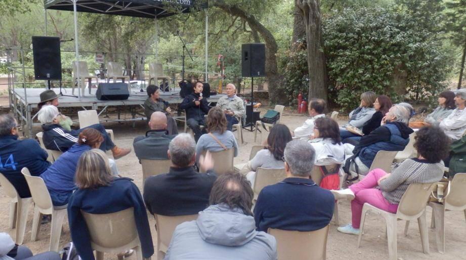 Ananda Guillet et Jean-Pierre Berlan ont passionné leur auditoire.