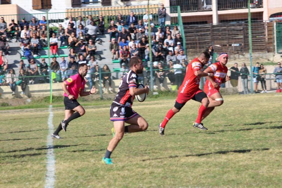 Le RCVRGP a bien lancé sa saison en s'imposant contre Martigues.
