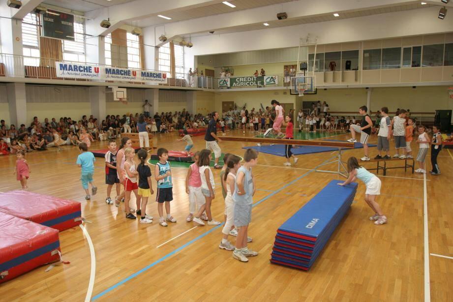 Les enfants seront initiés à de nombreuses disciplines sportives.(Photo-archives L.B)