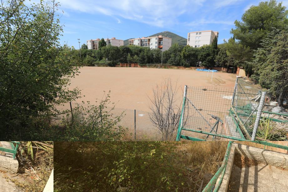 Située en pleine zone d'habitat, le stade de football qui a intéressé un temps un poromoteur immobilier attend désormais de connaître sa destination.