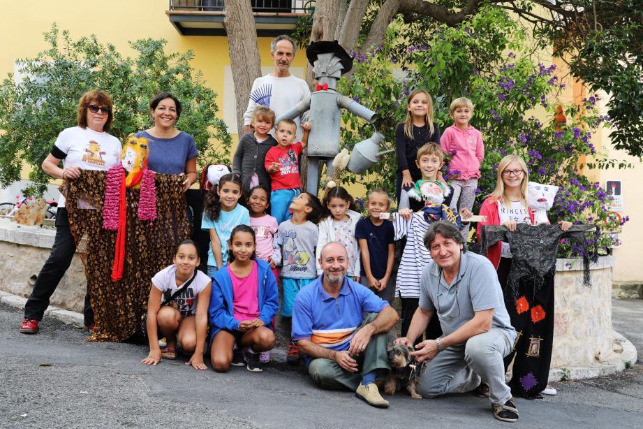 Figure de la culture populaire locale, l'épouvantail était au cœur de l'activité proposée aux enfants du village pour cette édition 2017 des journées du patrimoine consacrées à la jeunesse.