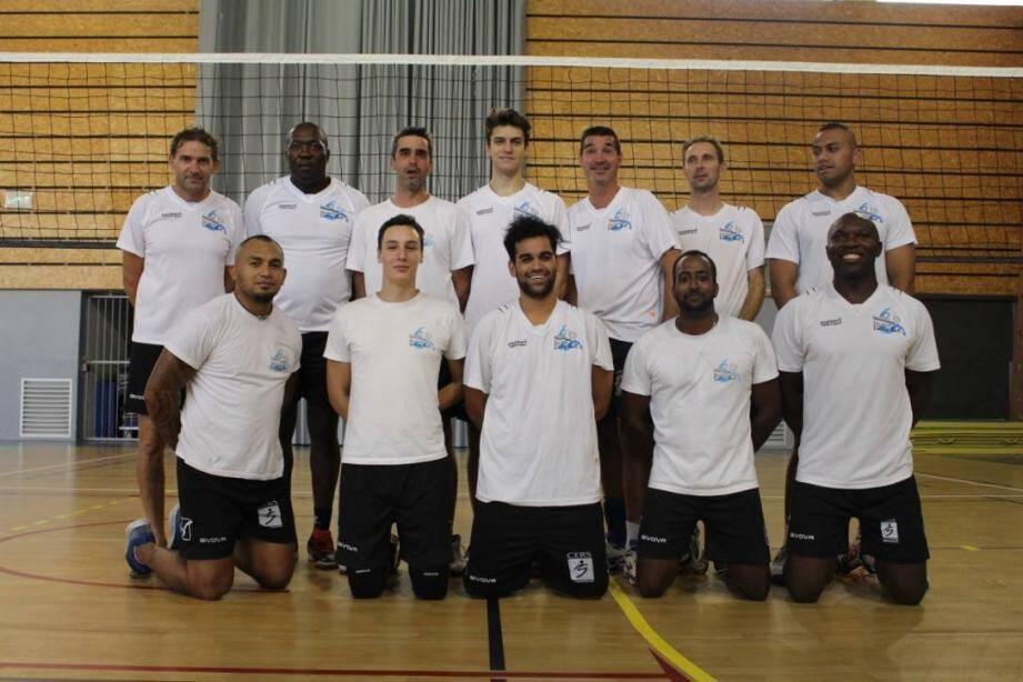 Le team fanion masculin du DUCVVB termine à la troisième place de son tournoi.Photo J. L.