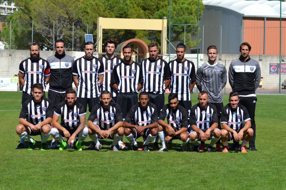 Le groupe fanion du SC Draguignan logiquement dominé par une belle équipe de Val Durance.