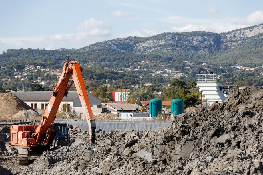 Le site de Brégaillon ne va plus se ''contenter'' de produire des éco-matériaux à partir de terres et sédiments pollués, il va se lancer dans la recherche et le développement.